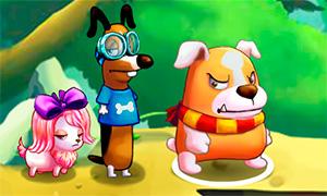 Интересная игра квест: Большой побег щенков