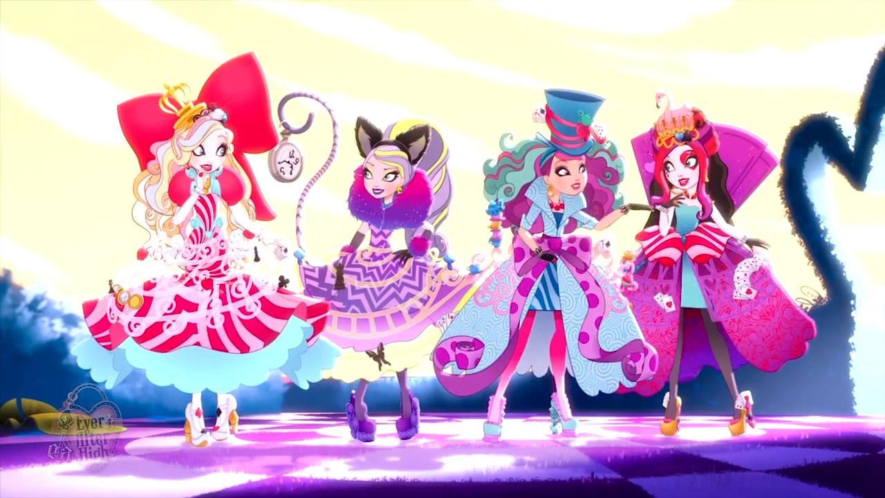 Игры для девочек дорога страну чудес