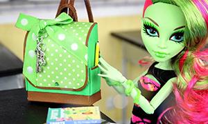 Как сделать рюкзак из ткани для куклы рюкзак шанель купить не дорого
