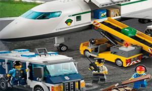Игра Лего Сити: Погрузка багажа