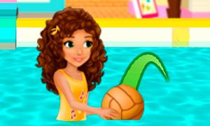 Игра Лего Френдс: Андреа и баскетбол