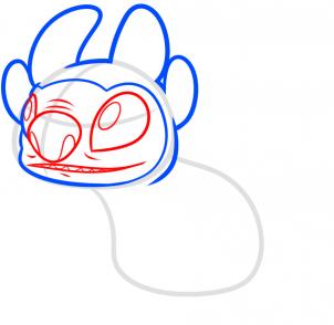 Как рисовать беззубика все о беззубике поэтапно все о беззубике