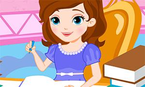 Игра для девочек: София Прекрасная и отдых от уроков