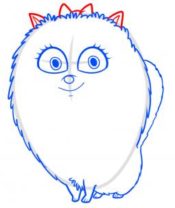 Тайная Жизнь Домашних Животных: Как нарисовать Гиджит