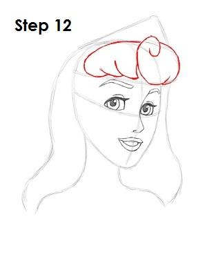 Рисование: Как нарисовать принцессу Аврору