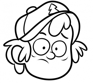 how to draw dipper from gravity falls youtube