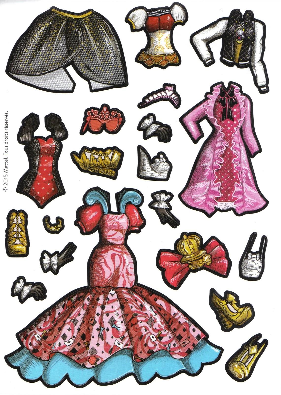 Бумажные куклы Эппл и Рэйвен Youloveit Ru