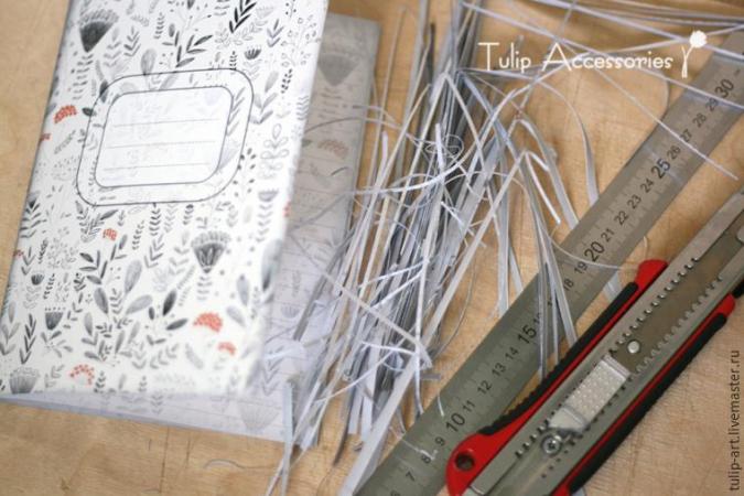 Мастер класс: Как сделать свою уникальную тетрадь