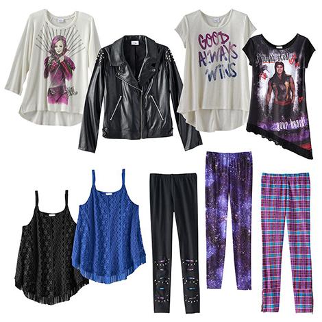 Дисней Наследники Коллекция одежды и аксессуаров