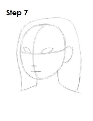 Как нарисовать Мулан карандашом поэтапно