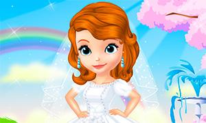 Игра София Прекрасная: Сказочные свадебные наряды