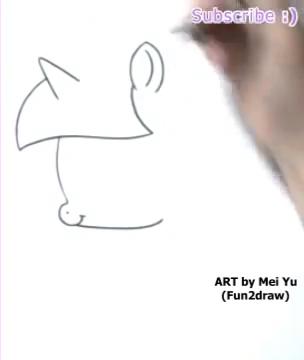 Как нарисовать очаровательную чиби пони Искорку (Твайлайт)