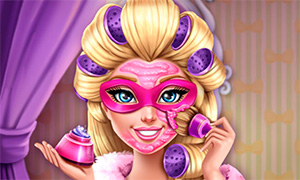 Игра Барби: Реалистичное преображение для Супер Блестки