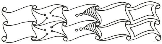 Рисунки в технике Зентангл: Узор