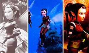 Феи Легенда о Чудовище: Анимации с феей разведчицей Никс