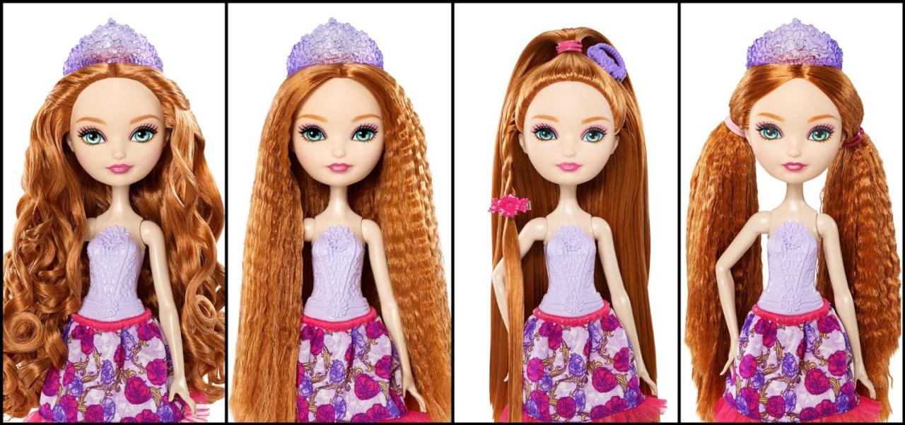 Модные причёски для кукол