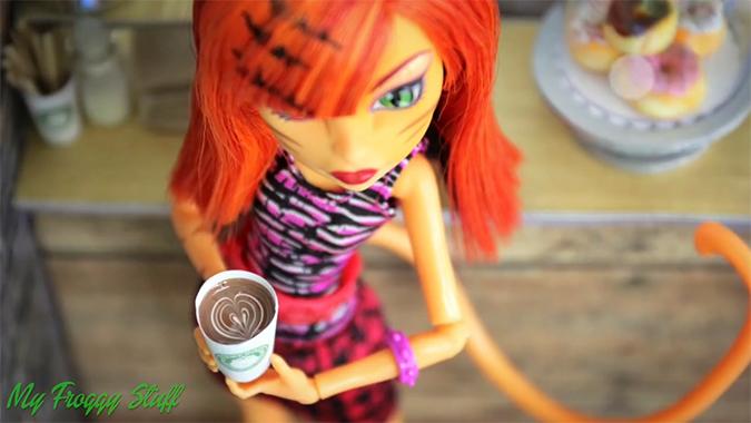 Как сделать для кукол кофе 693