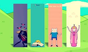 Время Приключений: Закладки для книг