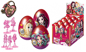 Шоколадные яйца с сюрпризом: Эвер Афтер Хай