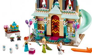 Лего Холодное Сердце 2016: Праздничный замок и Приключение Анны и Кристоффа