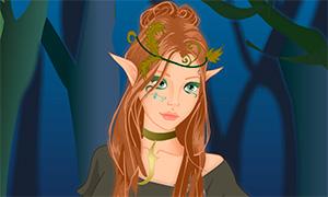 Игра для девочек: Создай лесного эльфа