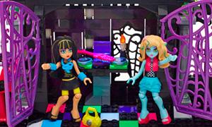 Монстр Хай: Игровые наборы Мега Блокс (Mega Bloks)