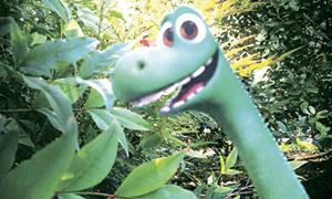 Хороший Динозавр поделки: Арло из бумаги