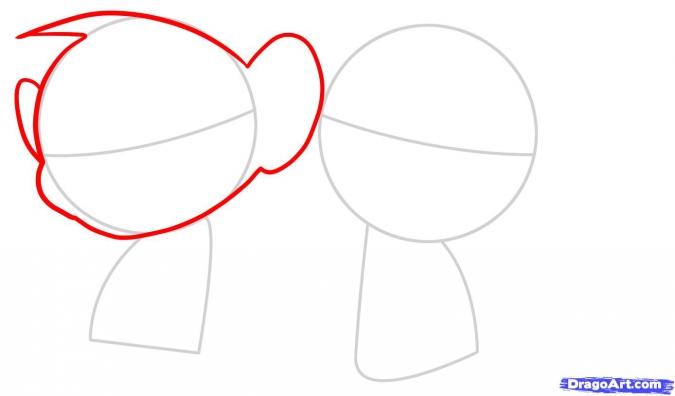 Рисуем обезьянок - символ 2016 года