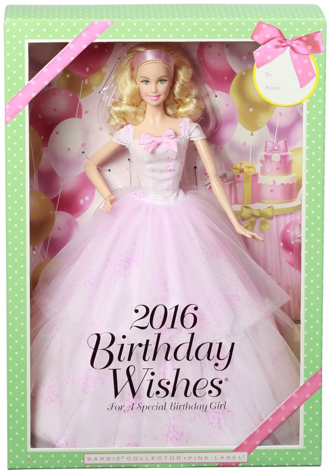 Куклы Барби 2016 Barbie Collector: Ballet Wishes, Birthday Wishes