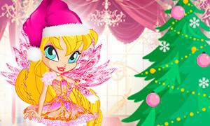 Небольшие новогодние подарки: Бесплатные детали для аватарок Винкс