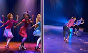 Учим танец из мультфильма Дисней Наследники Good is the New Bad
