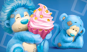 Обезьянки My Blue Nose Friends SWEET BOX  («Свитбокс»): Игрушка в коробочке со сладостями