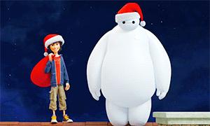 Город Героев: Новогодние анимации