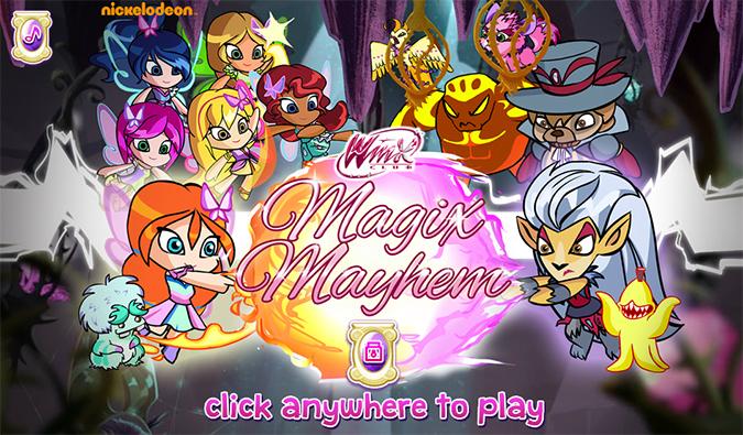 Игра Винкс Клуб 7 сезон: Magix Mayhem - Спасти волшебных животных