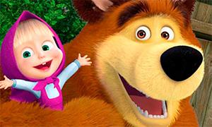 Игра Маша и Медведь: Коллекция пазлов