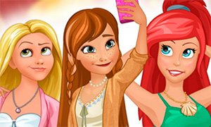 Игры для девочек о селфи принцесс диснея