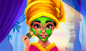 Игра для девочек: Реалистичное преображение принцессы Жасмин