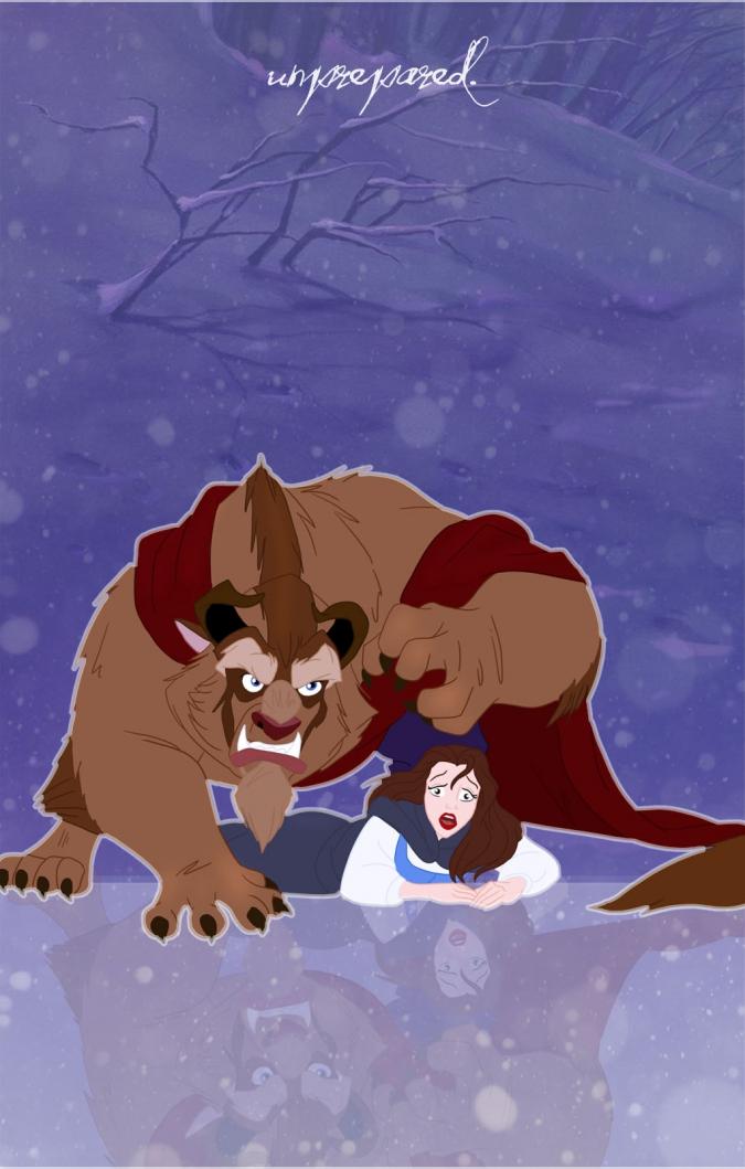 Игра Принцессы Красавица Белль и чудовище