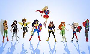 DC Super Hero Girls: Героиня месяца Супердевушка