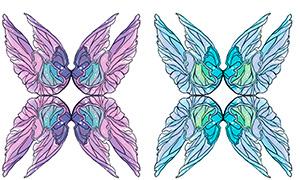 Бумажные крылья Фейбелль Торн