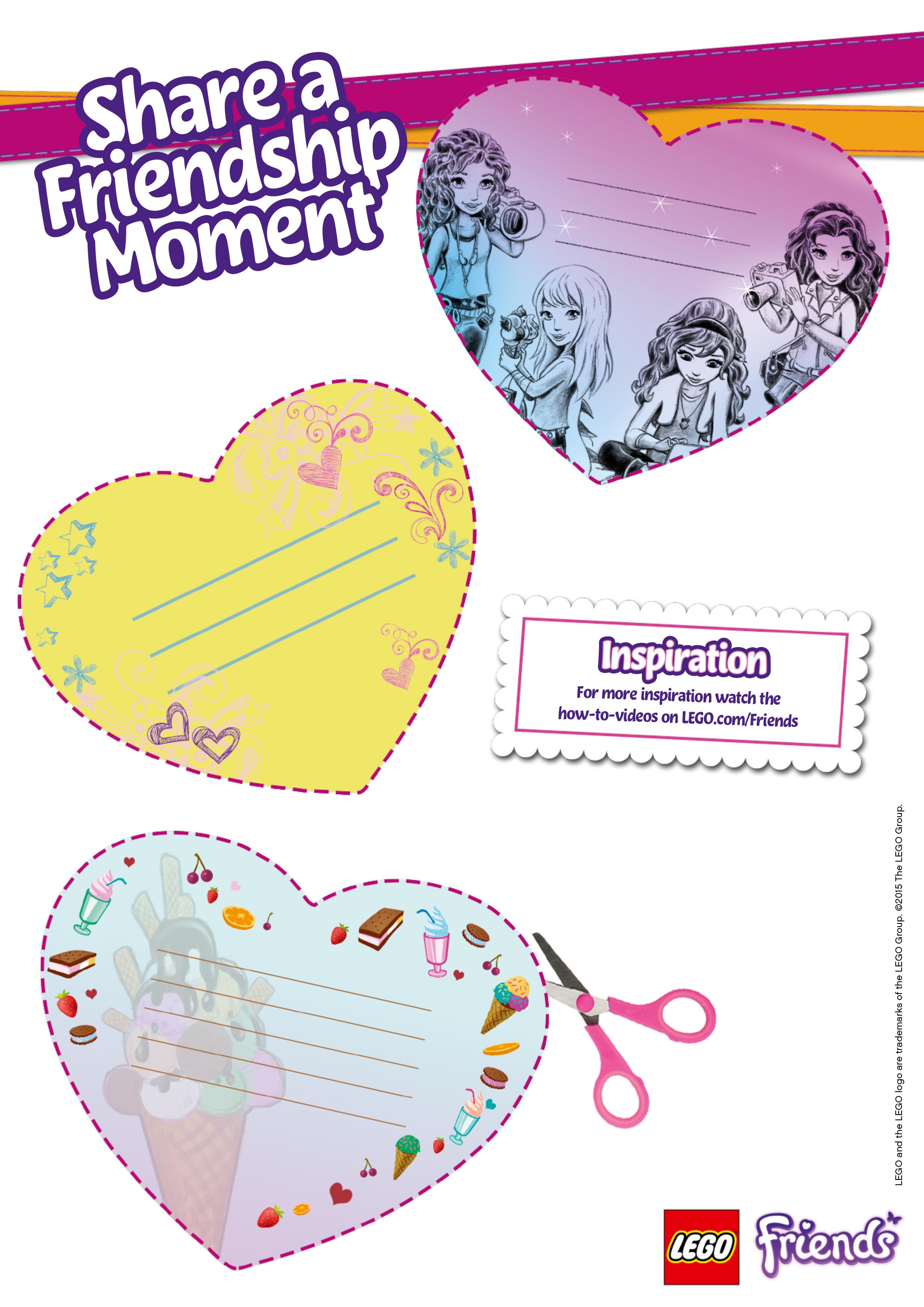 Картинки лего френдс для девочек - b61