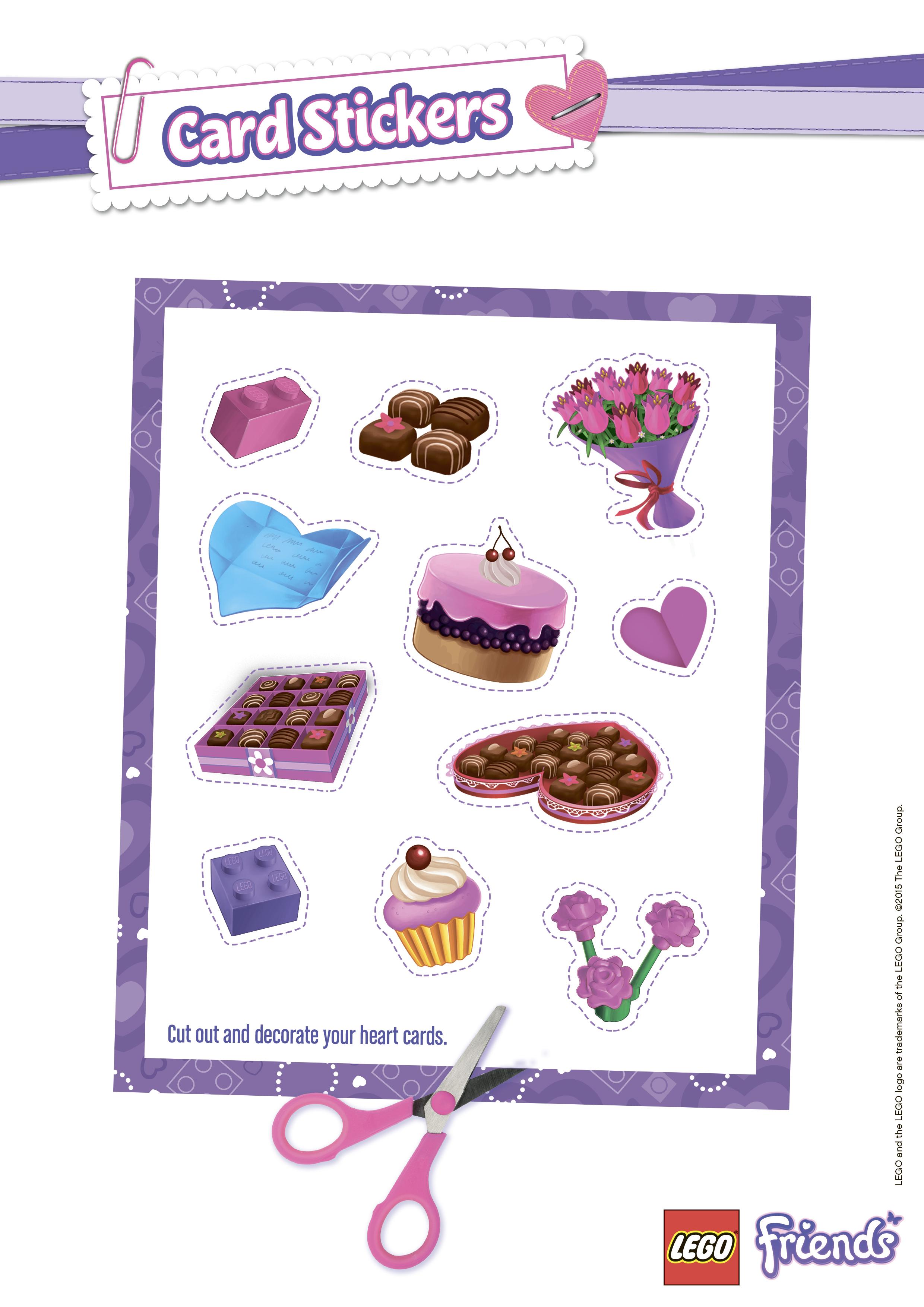 Мини открытки на день святого валентина