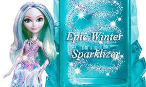 Эвер Афтер: Набор с куклой Кристал Винтер Epic Winter Sparklizer