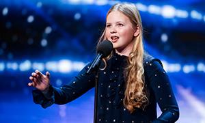 Невероятно сильный голос 12 летней девочки Beau Dermott