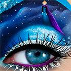 Самий незвичайний і красивий макіяж - уроки малювання
