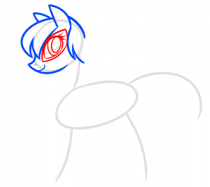 Как нарисовать пони Леди Баг