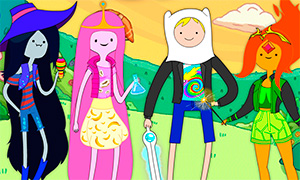 Игра Время Приключений: Одевалка главных героев