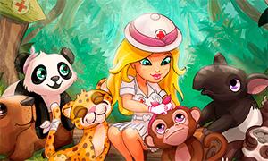 Игра для девочек: Больница для животных в джунглях