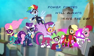 Power Ponies GO! - ����������� ���� � ����� ����