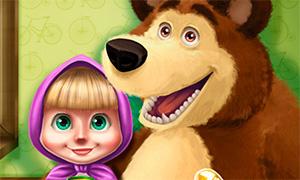 Игра Маша и Медведь: Весенняя аллергия Маши
